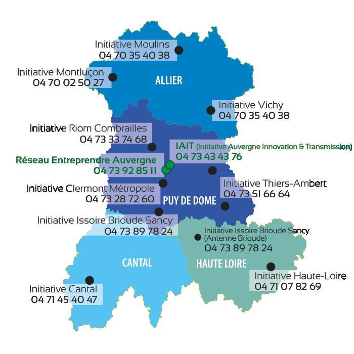carte coordonnées plateformes